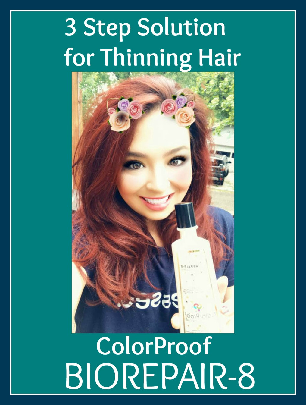 ColorProof BioRepair-8 3 Step Solution for Thinning Hair #Partner