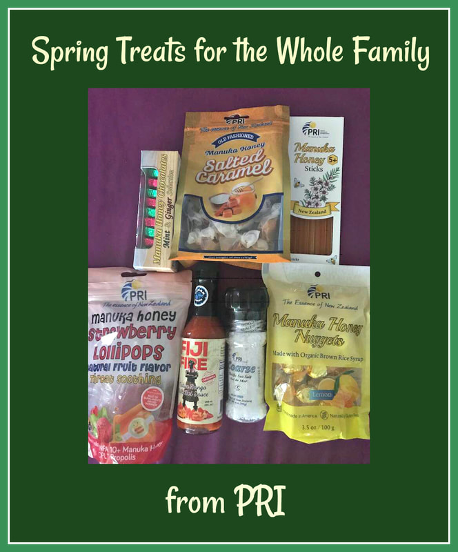 Spring Treats for the Family Plus a @ShopPRI #ManukaHealth GIVEAWAY ARV:$70 #Partner 4/30